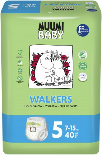 Muumi Baby Walkers, Vel. 5, 5 ks