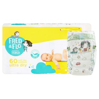 Tesco Fred&Flo Ultra Dry Mini, 5 ks
