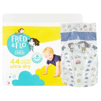 Tesco Fred&Flo Ultra Dry Junior, 5 ks