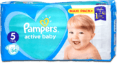 Pampers Active Baby Velikost 5, 5 ks