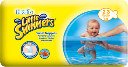 Huggies Little Swimmer, 2 ks