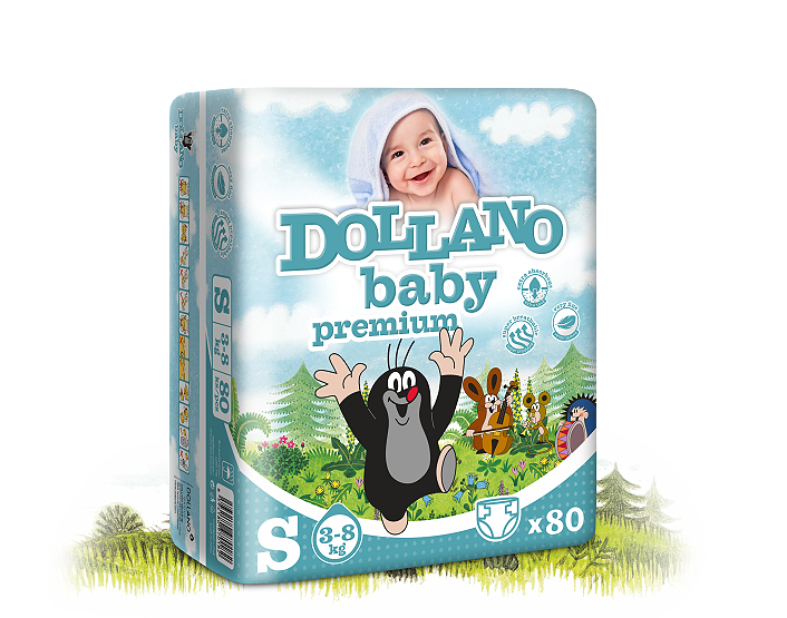Dollano baby premium, 5 ks