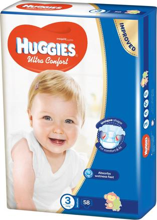 Huggies Ultra Comfort, 5 ks